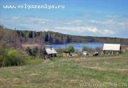 Объект недвижимости на Волге в д.Заозерье-Тверская областьОсташковский район